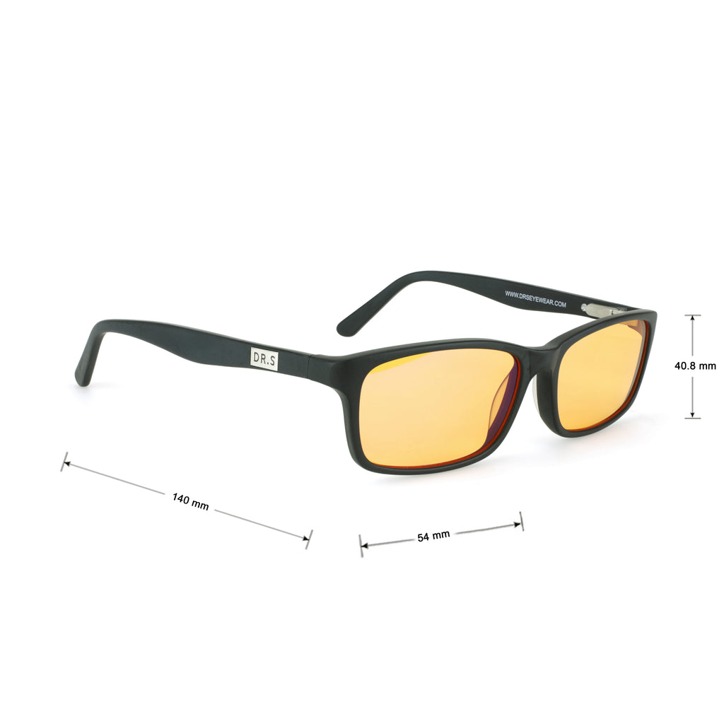 Small Square Blue Light Filtering Glasses