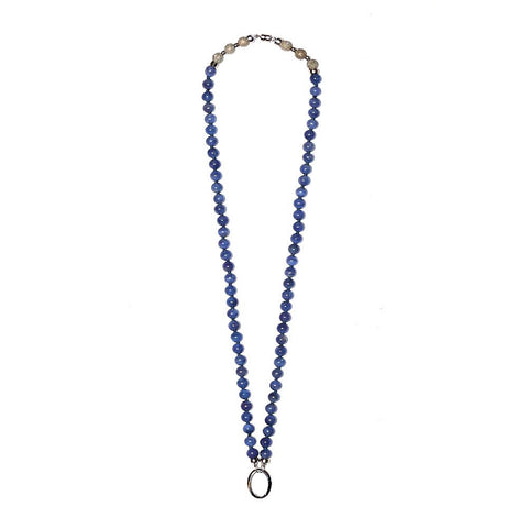 """TANZANIA - SKY"" WHITE GOLD AND TANZANITE NECKLACE"