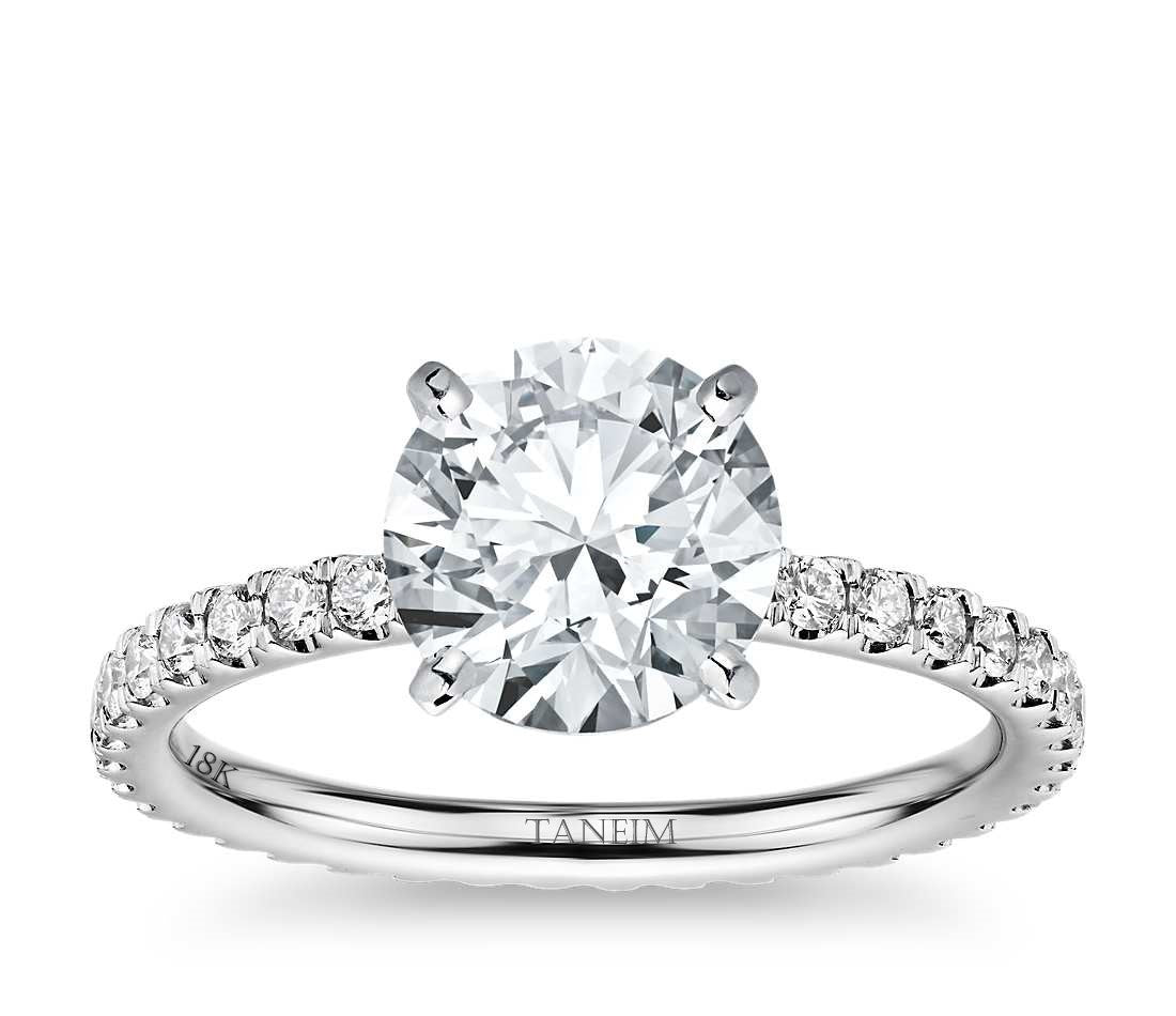 Engagement Diamond Solitaire Ring 1.00 CT G/SI1
