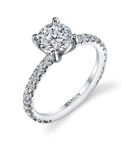 "EXCLUSIVE DIAMOND ENGAGEMENT SETTING ""START 1"""
