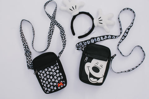 Buckle-Down Mickey Mouse crossbody bags