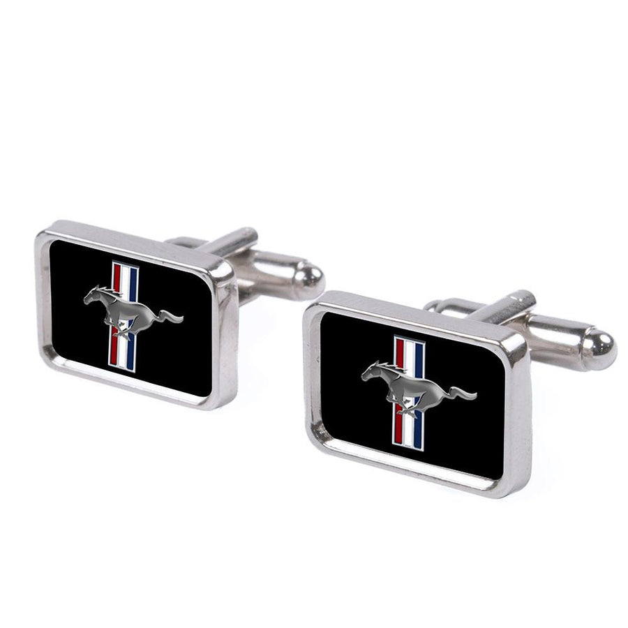 Cufflink Set - Ford Mustang FCG Black