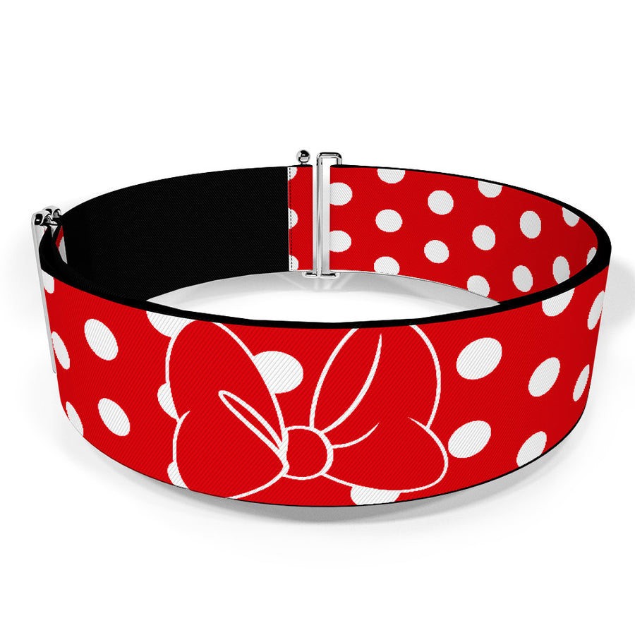 Cinch Waist Belt - Minnie Mouse Dots Red/White