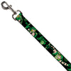 Dog Leash - GREEN ARROW Action Poses Targets Black Greens