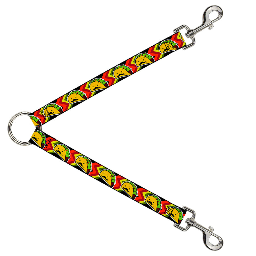 Dog Leash Splitter - Taco Man