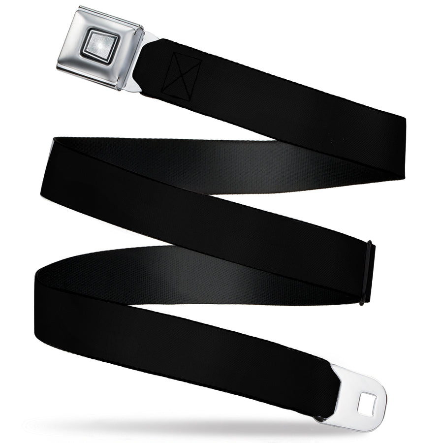 Starburst Seatbelt Belt - Black Webbing