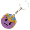Keychain Stamped Metal - Thanos Frown Emoji
