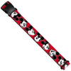 Luggage Strap - Mickey Mouse Expressions Red/Black/White