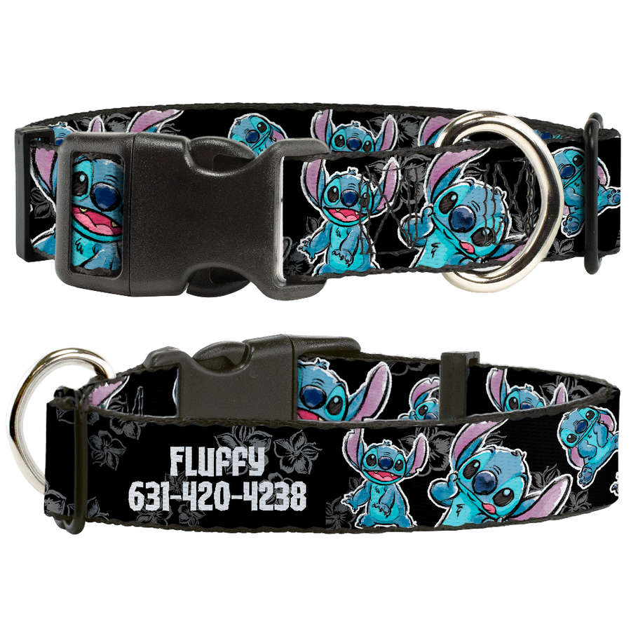 Disney Lilo and Stitch - Personalized Dog Collar