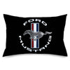 Pillowcase - STANDARD - FORD MUSTANG Tri-Bar Logo Black/White/Silver/Red/Blue
