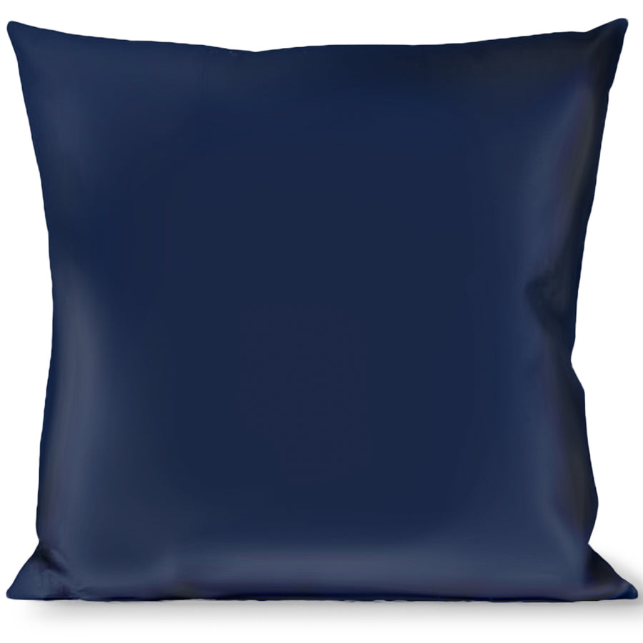 Buckle-Down Throw Pillow - Navy