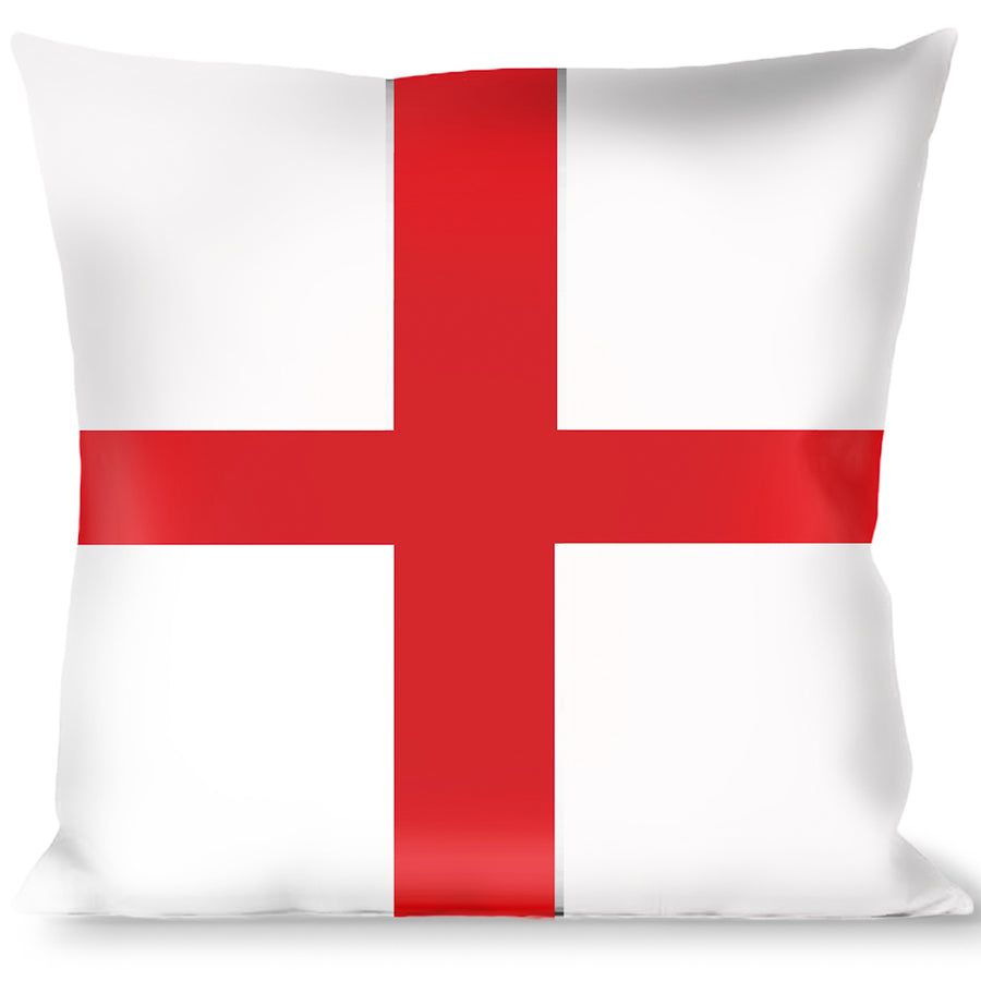 Buckle-Down Throw Pillow - England Flags