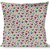 Buckle-Down Throw Pillow - Eyeballs Stacked