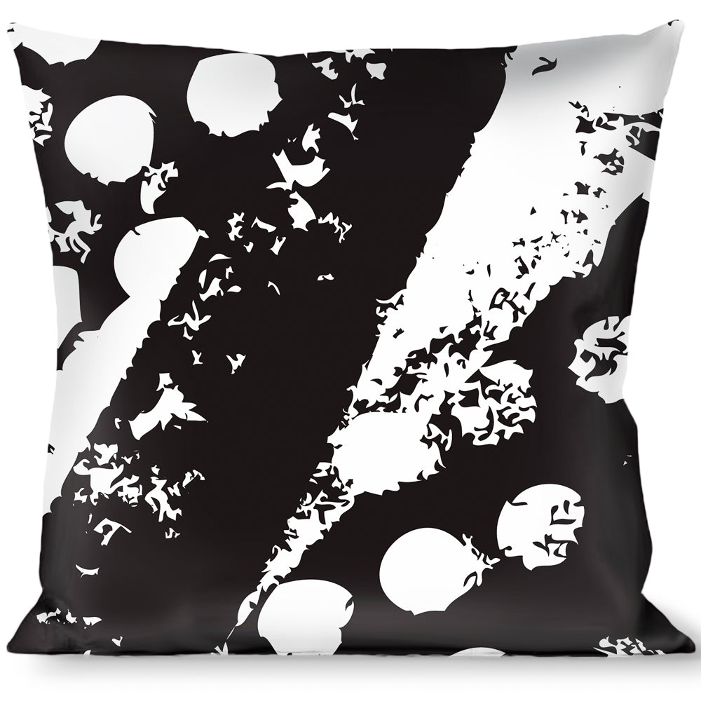 Buckle Down Death Before Dishonor C//U Olive Throw Pillow Multicolor