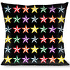 Buckle-Down Throw Pillow - Nautical Star Black/Multi Color