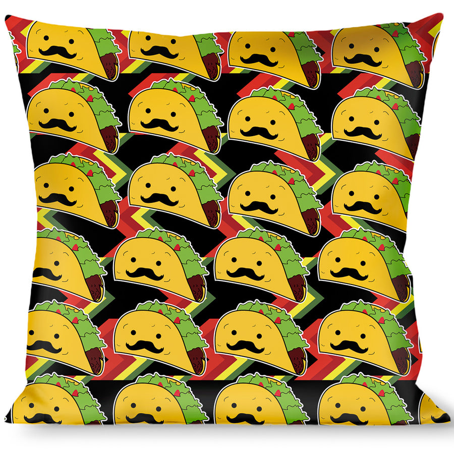 Buckle-Down Throw Pillow - Taco Man