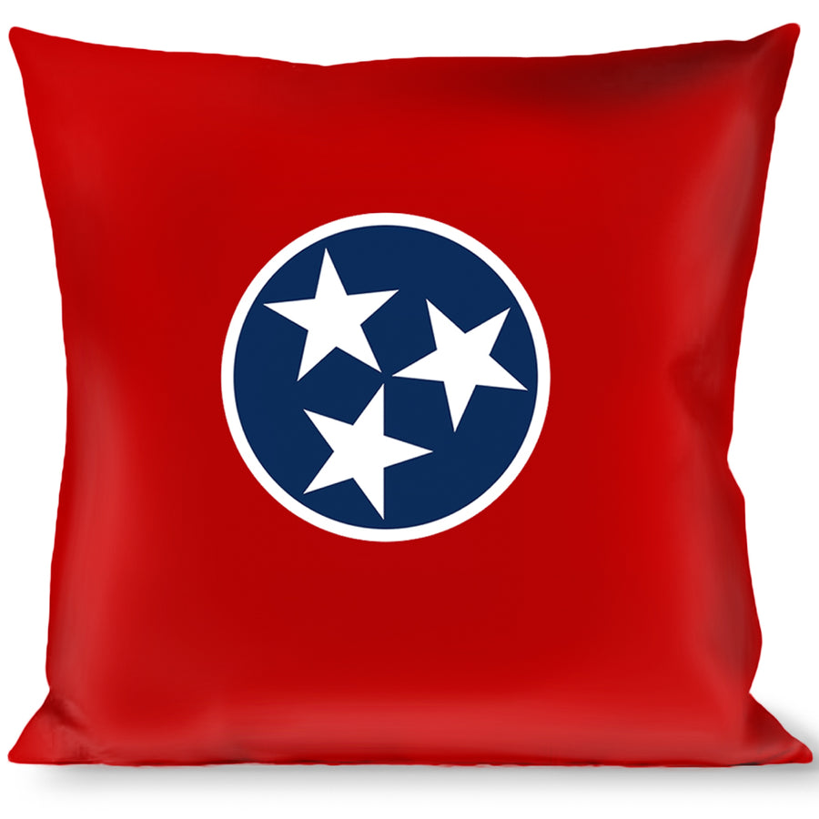 Buckle Down Merica Stripes//Stars Red//White//Blue Throw Pillow Multicolor