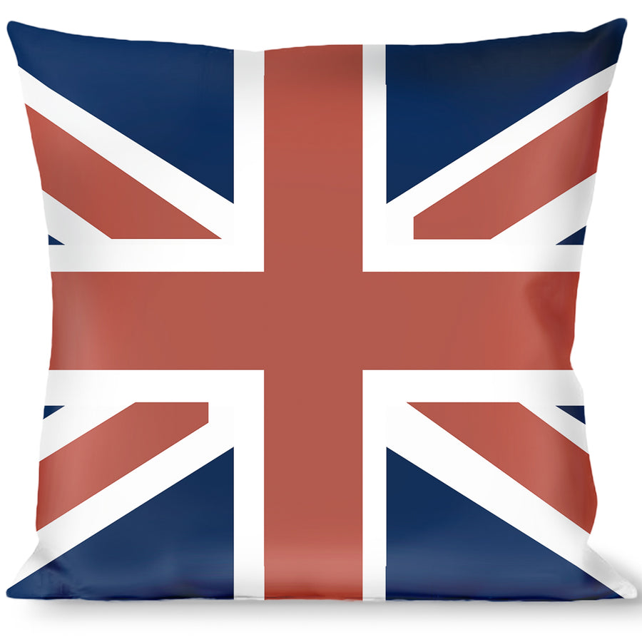 Buckle-Down Throw Pillow - United Kingdom Flags
