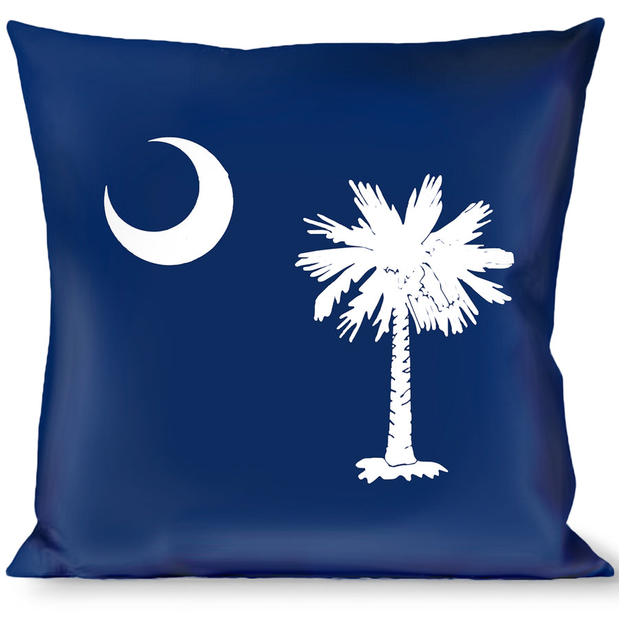 Buckle-Down Throw Pillow - South Carolina Flags