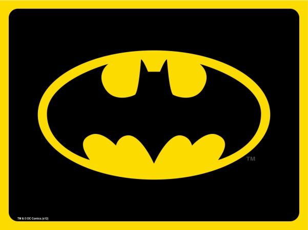 Placemat - Batman Black/Yellow