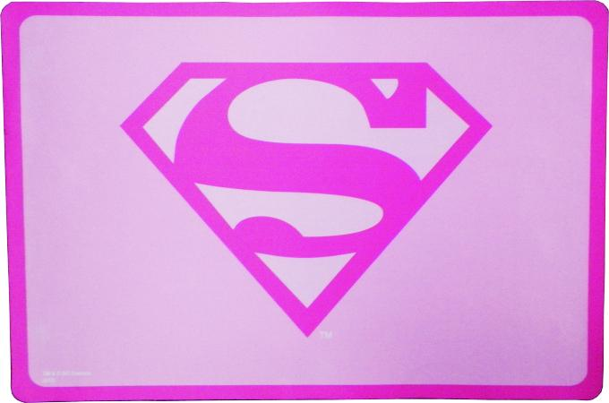 Placemat - Superman Pink
