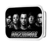 The Big Bang Theory Group/BAZINGA FCG Black/White - Black Rock Star Buckle