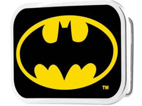 Batman Framed FCG Black/Yellow - Black Rock Star Buckle