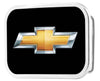 Chevy Bowtie Framed FCG Black/Gold - Chrome Rock Star Buckle