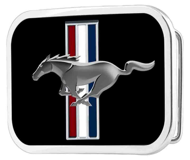 Ford Mustang Framed FCG Black - Chrome Rock Star Buckle