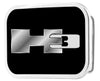 H3 Framed FCG Black/Silver - Chrome Rock Star Buckle