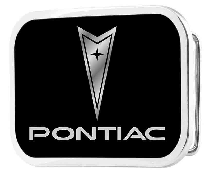 Pontiac Framed FCG Black/Silver - Chrome Rock Star Buckle