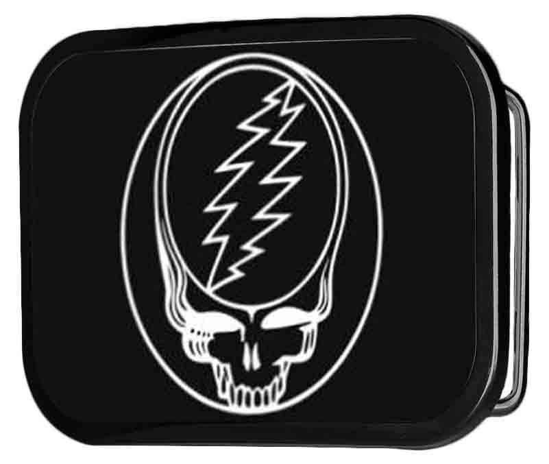 Steal Your Face FCG Black/White - Black Rock Star Buckle