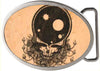 Space Your Face FCWood Natural/Black - Matte Oval Rock Star Buckle