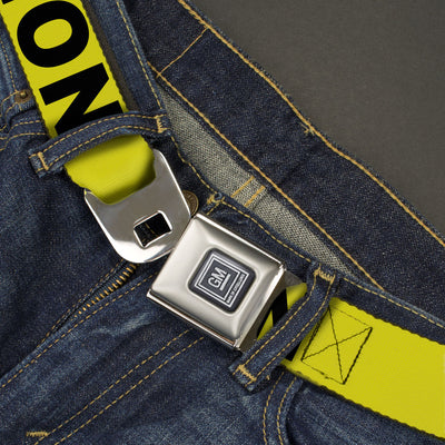 GM Seatbelt Belt - CAUTION