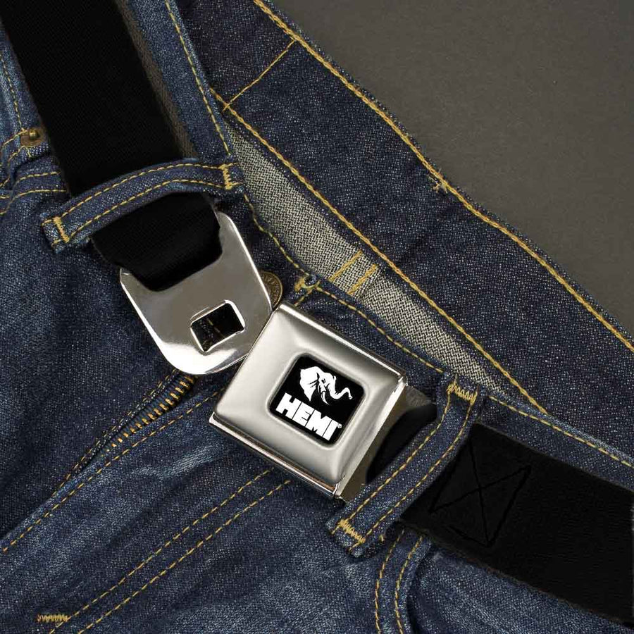 HEMI Elephant Logo Full Color Black/White - 