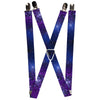 "Suspenders - 1.0"" - Galaxy Blues Purples"
