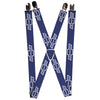 "Suspenders - 1.0"" - 1965 CHEVROLET Bowtie Blue White"