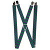"Suspenders - 1.0"" - Joker HAHAHA Purple Green"