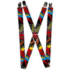 "MARVEL COMICS Suspenders - 1.0"" - Spider-Man in Action w AMAZING SPIDER-MAN"