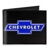 Canvas Bi-Fold Wallet - Chevy Bowtie Logo CENTERED