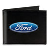 Canvas Bi-Fold Wallet - Ford Oval Logo CENTERED