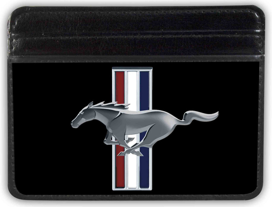 Weekend Wallet - Ford Mustang w Bars Logo CENTERED