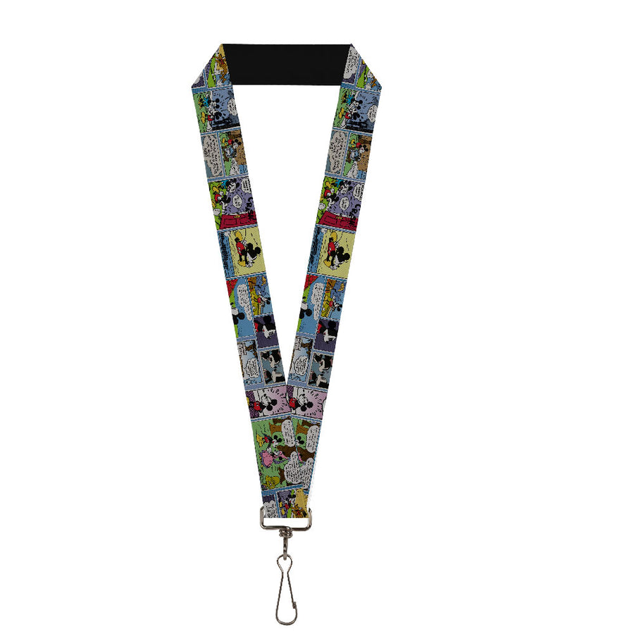 "Lanyard - 1.0"" - Mickey & Minnie Comic Strip"