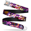 Alice Face Full Color Red Seatbelt Belt - Alice & the Queen of Hearts Scenes Webbing