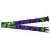 MARVEL COMICS Luggage Strap - HULK Face CLOSE-UP Action Pose Greens Purples