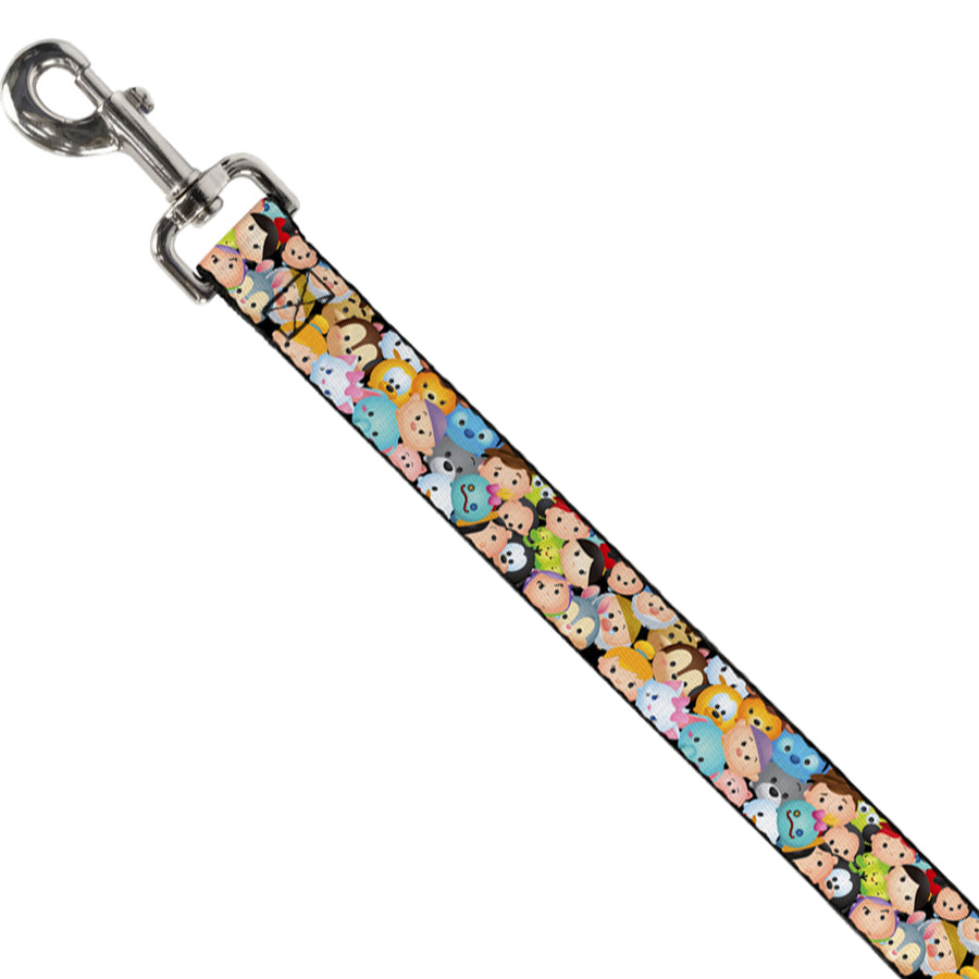 Dog Leash - Tsum Tsum Faces Stacked
