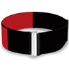 Cinch Waist Belt - Harley Quinn Diamond Split Red Black Black Red
