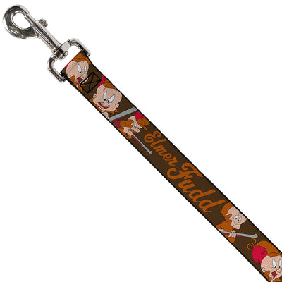 Dog Leash - ELMER FUDD w/Poses Browns