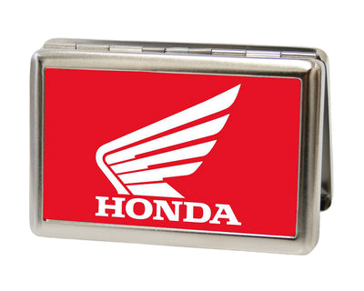 Business Card Holder - LARGE - HONDA Motorcycle FCG Red White