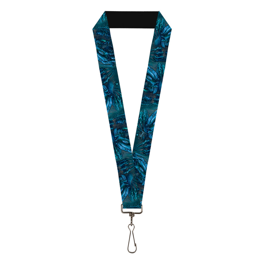 "Lanyard - 1.0"" - Tattoo Johnny-Brutal Blue"